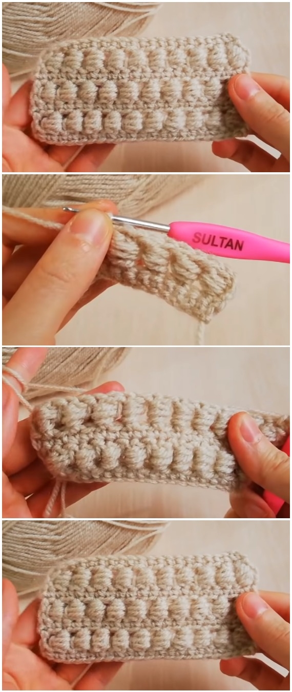 Learn To Crochet Easy Puff Stitch