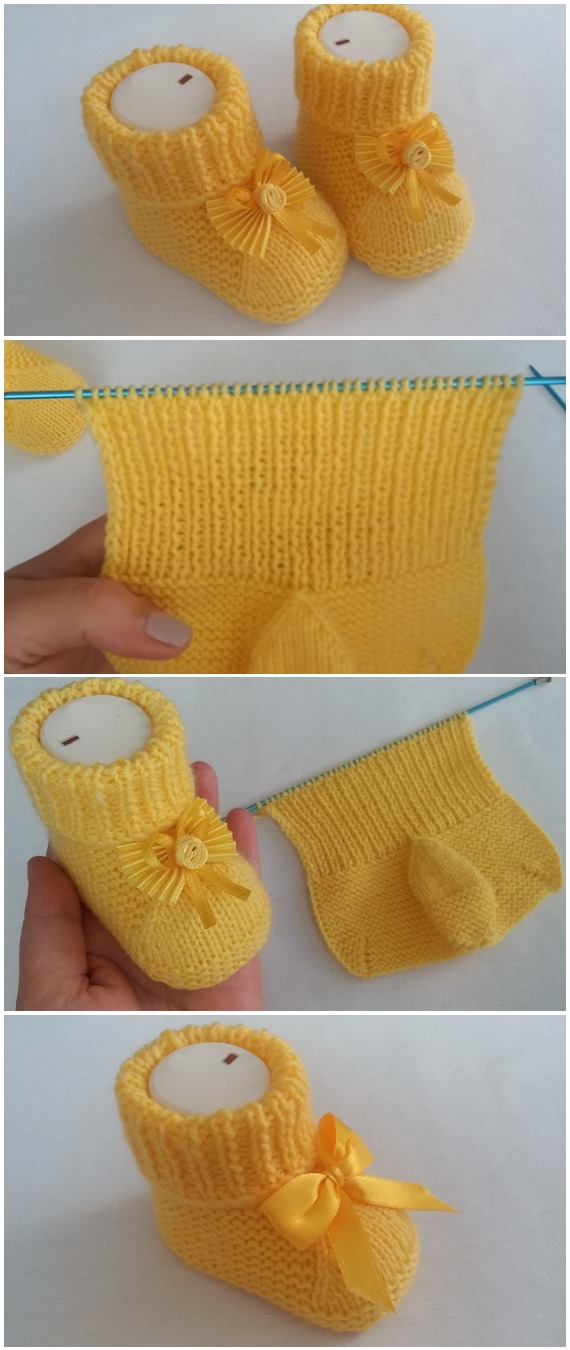 Crochet Easy Lovely Baby Booties