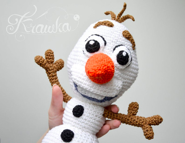 Free crochet snowman pattern - Amigurumi Today | 463x600