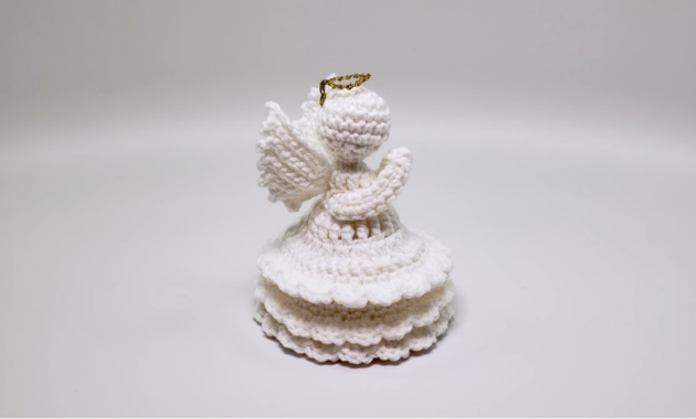 Crochet Christmas Angel