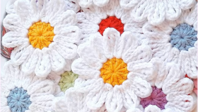 Photo of Crochet Easy and Fast 12 Petal Flower
