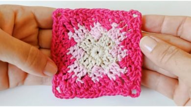 Photo of Learn To Crochet Easy Square