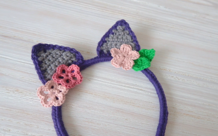 Crochet Cutest Cat Ears