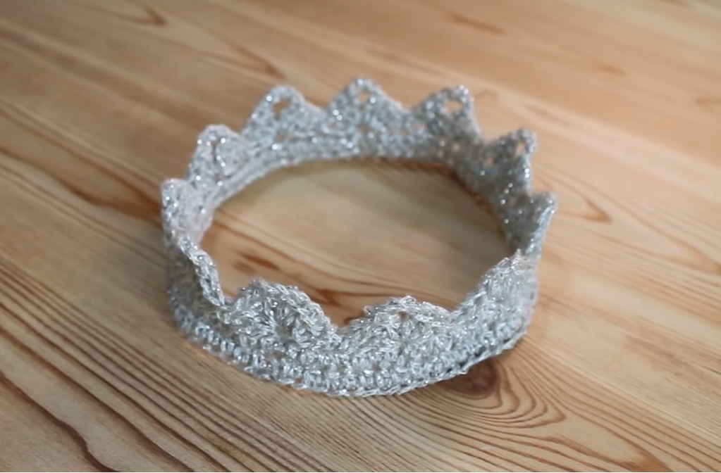 Crochet easy Crown/Tiara
