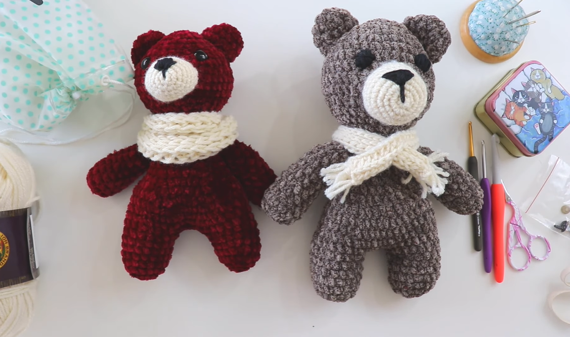 Crochet Cutest Teddy Bear