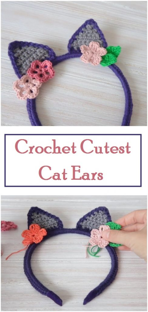 Cat Ear crochet Headband | Charmed By Ashley | 1024x488