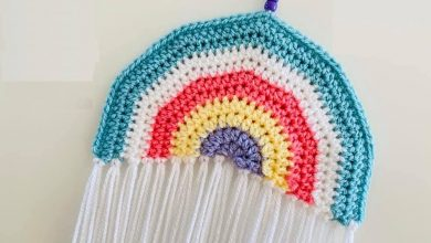 Photo of Crochet Rainbow for Hope!