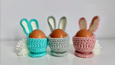 Photo of Crochet Easter Egg Decoration