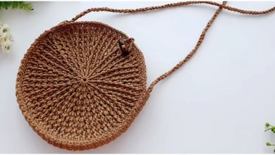 Photo of Crochet Easy Cross Bag