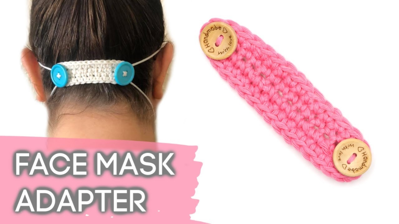 Crochet Face Mask Adapter
