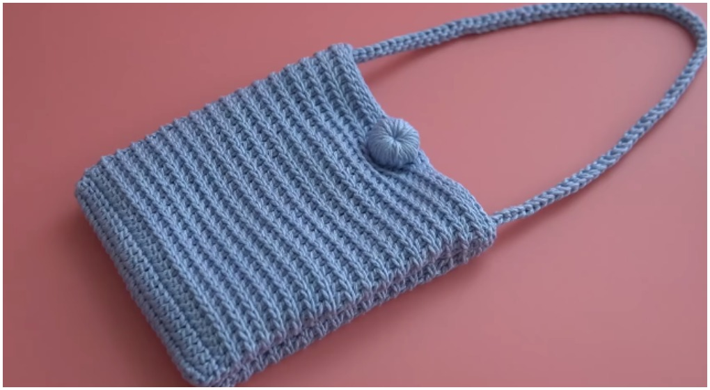 Crochet 2 Pocket Bag & # 8211; Kostenloses Muster [Video]