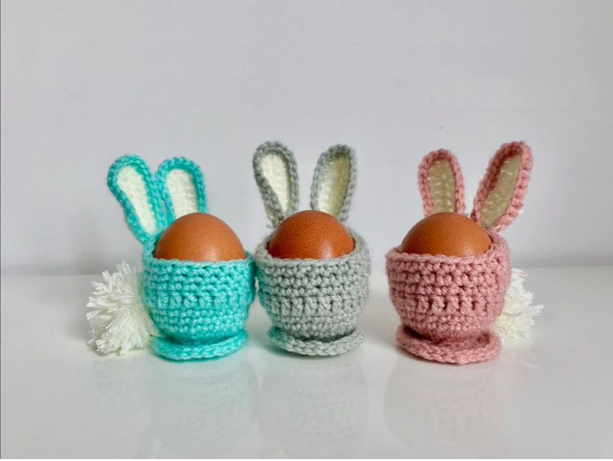 Crochet Easter Egg Decoration