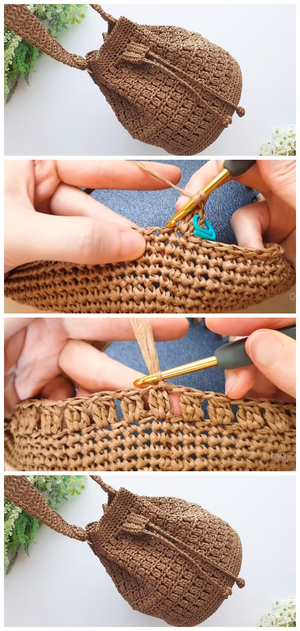 Crochet Easy Bucket Bag
