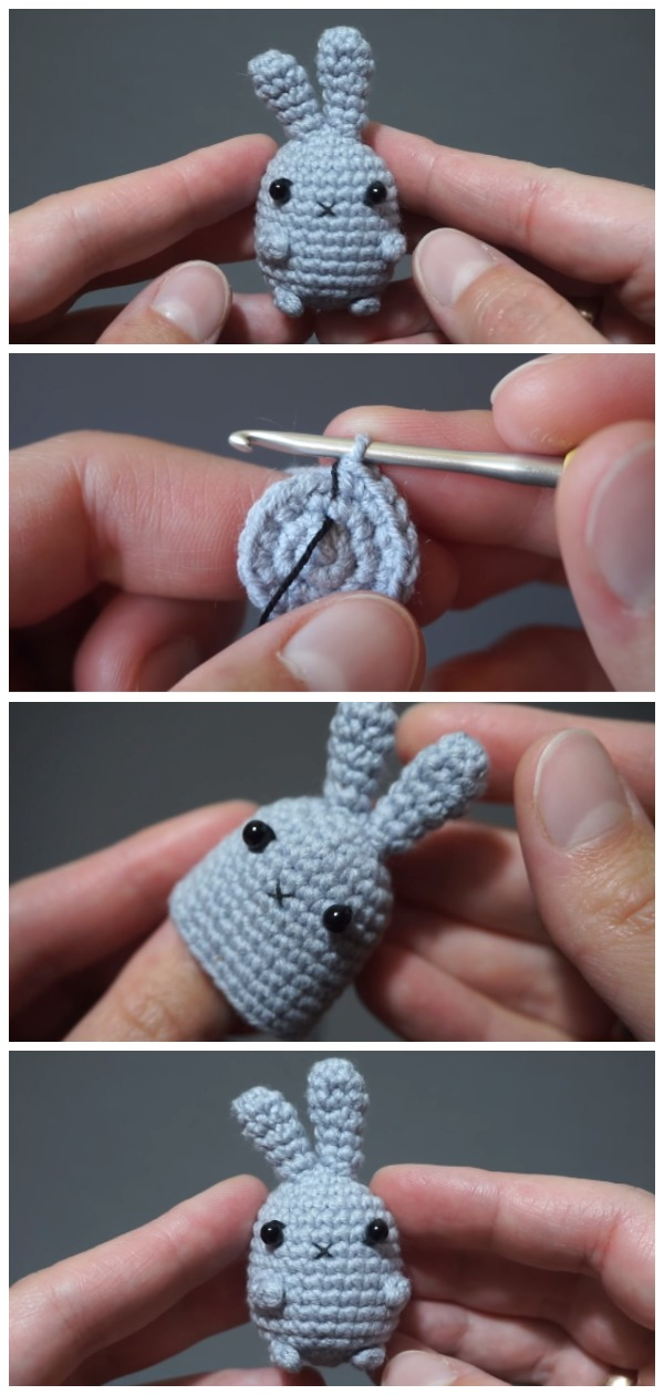 Crochet Easy Rabbit Amigurumi