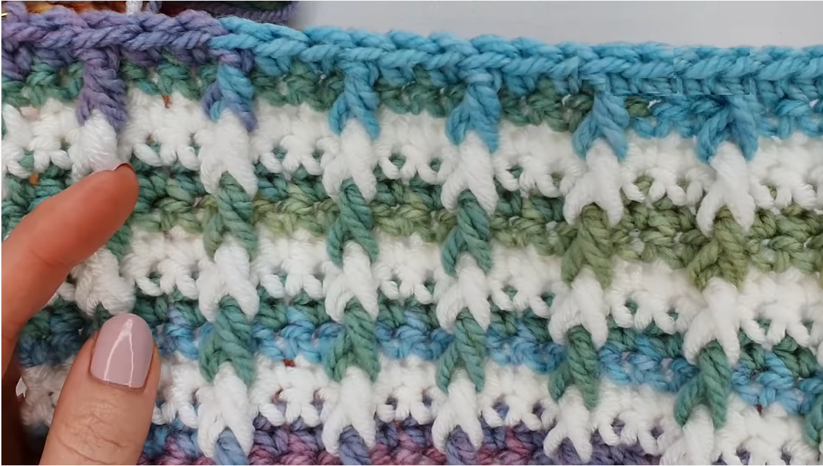 Crochet Bar Stitch (Amazing Texture)