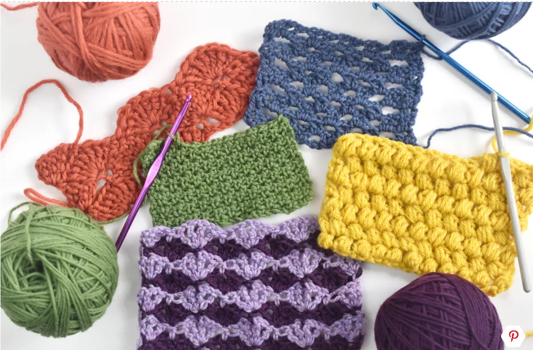 Top 10 Most Popular Crochet Stitches