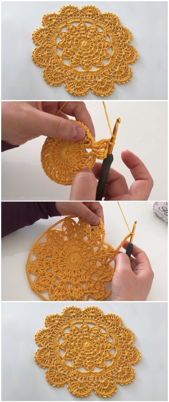 Crochet Easy Wonderful Doily