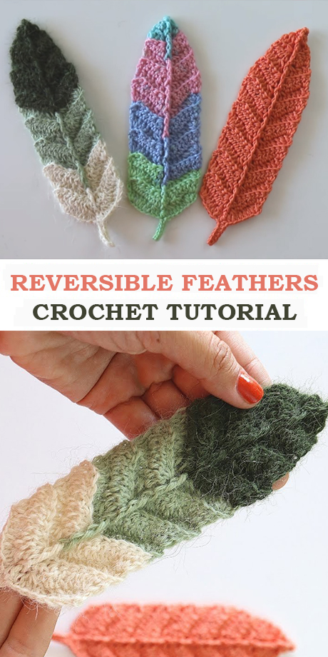 Easy Reversible Feathers