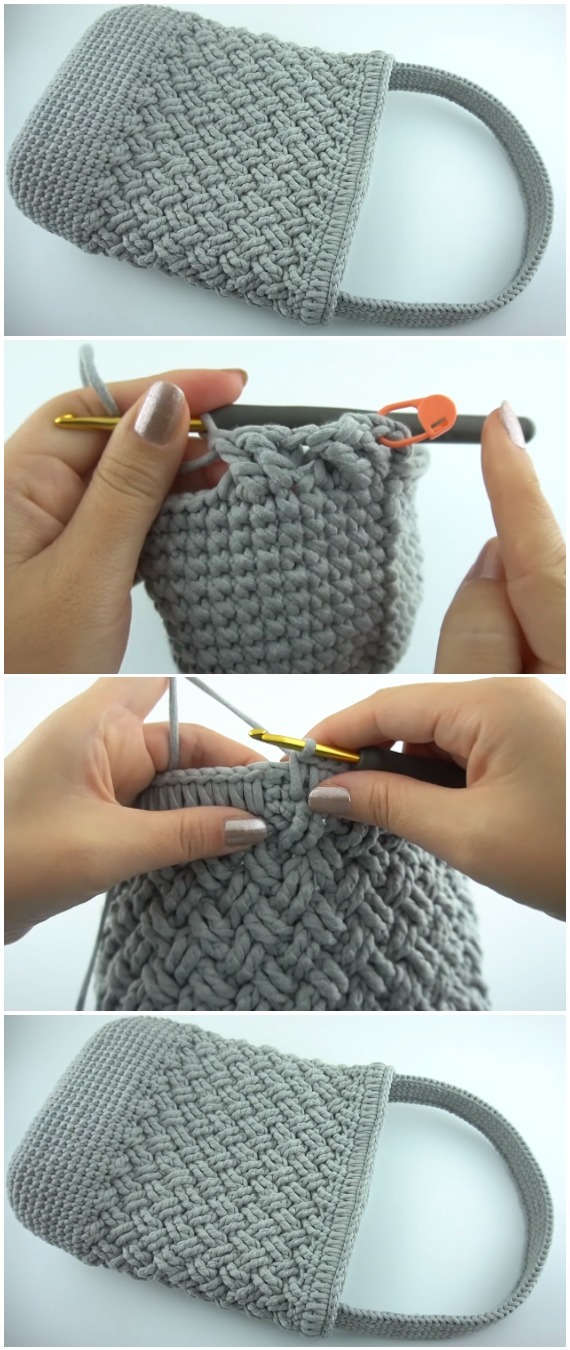Learn To Crochet Celtic Stitch Bag