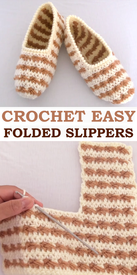 Easy Folded Slippers