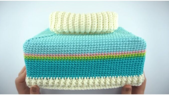 Crochet Easy Tissue Box Cover